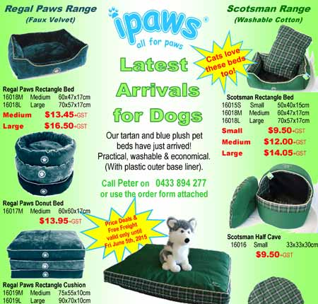 Wholesale Dog Products – Sydney NSW – Dogs Bedding, Beds, Food, Toys Leads, Collars